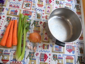 Broth ingredients